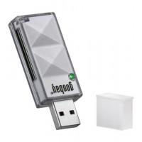 Lecteur de cartes EXT. SD / SDHC USB 2.0 silver