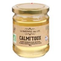 LA BARONNIE DES LYS Mélange de miel d'acacia et huiles essentielles Calmi'toux bio - 250 g