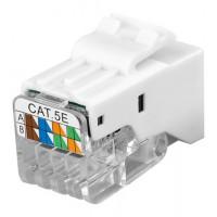 CAT 5e KeyStone jack RJ45, UTP non blindé, 100 MHz