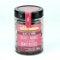 LA PETITE ETAGE Olives noires a la grecque dénoyautées - 200 g