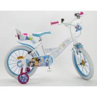 """LA REINE DES NEIGES 2018 Vélo 16"""" - Enfant fille - Blanc et bleu"""