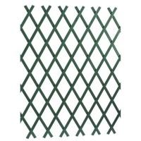 LAMS Treillage PVC strié - 2 x 1 m - Vert