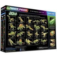 LASER PEGS Jeux de construction 20 in 1 T-Rex