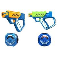 LAZER M.A.D. - Battle Ops - 2 Blasters Lazer + 2 Cibles - Le Kit 2 joueurs