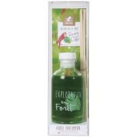 LE CHAT Diffuseur a froid Exploration en foret - 100 ml - Parfum : foret tropicale - Couleur : vert