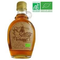 LE QUEBECOIS Sirop d'Érable Bio - 189 ml