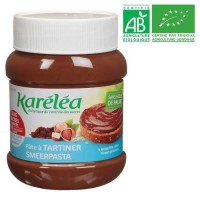 LÉA NATURE Karéléa pâte a tartiner noisette cacao Bio - 400g