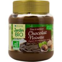 LÉA NATURE pâte a tartiner chocolat noisette Bio - 350g