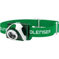 LEDLENSER Lampe frontale LED Seo3 - Vert - En blister