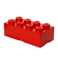 LEGO 40041730 Brique de rangement - Rouge
