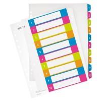 LEITZ Intercalaire Imprimable 1-10 A4 + WOW