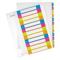 LEITZ Intercalaire Imprimable 1-12 A4 + Wow