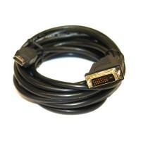 Câble HDMI-DVI Highspeed 3D avec Ethernet (5 Mètre)