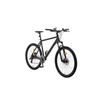 LERUN Vélo VTT cadre alu 27.5 - 24 vitesses Shimano-freins disquesTaille M