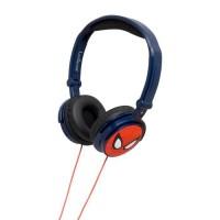 LEXIBOOK - SPIDER-MAN - Casque Audio Stéréo, Puissance sonore Limitée, Pliable et Ajustable