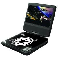 LEXIBOOK - STAR WARS - Lecteur DVD pour Enfant avec port USB
