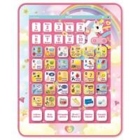 LEXIBOOK - Tablette Educative & Bilingue Licorne - Français, Anglais - Abécédaire Educatif Bilingue