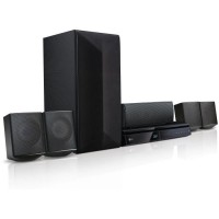 LG LHB625M Home Cinéma 5.1 - Lecteur Blu-ray - Bluetooth - DLNA - Noir
