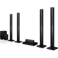 LG LHB655NW Home Cinéma 5.1 - Lecteur Blu-ray - Bluetooth - DLNA - Enceintes surround sans fil - Noir