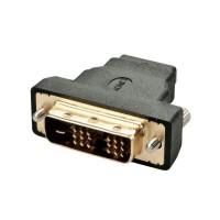LINDY Adaptateur DVI-D mâle / HDMI A femelle