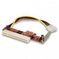 LINDY Adaptateur PCIe pour carte PCI Low Profile