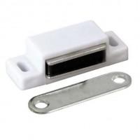 Loqueteau magnétique - 10 kg - Blanc
