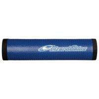 LIZARD SKINS Peaty Poignées de guidon VTT 30,3 mm - Bleu