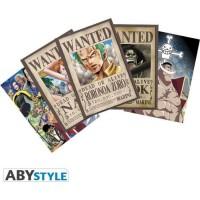 Lot de 5 Cartes postales One Piece - Set 2 : Zoro Wanted & Co - 14,8 x 10,5 cm