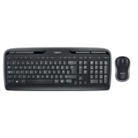 Logitech pack clavier-souris sans fil - MK330