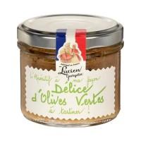 LUCIEN GEORGELIN Délice d'Olives Vertes - Tartinable - 100 g