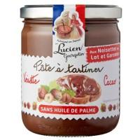 LUCIEN GEORGELIN Pâte a Tartiner aux Noisettes du Lot-et-Garonne et Cacao - 400 g