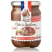 LUCIEN GEORGELIN Pâtes a Tartiner Noisette Cacao 280g Les Recettes Cuites au Chaudron