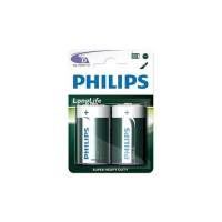 Pack de piles Philips Longlife R20 Mono D