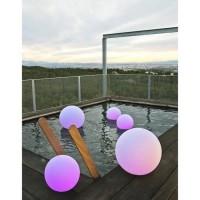 LUMISKY Sphere Led sans fil télécommandable 30 cm - Multicolore