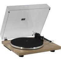 MADISON 10-5558 Platine-disques a entrainement par courroie - Encodage USB, transmission BT & cellule audio Technica - Bois