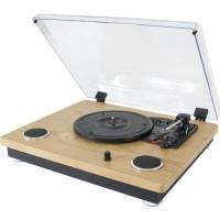 MADISON 10-5562MA Platine vinyle vintage avec haut-parleurs, USB/SD & Bluetooth