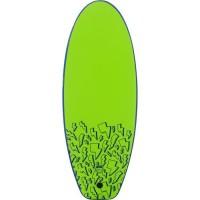 MADNESS Planche de surf Softjoy - Enfant - Bleu et Vert citron