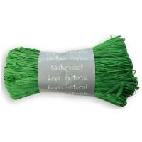 MAILDOR Pelote Raphia Naturel - Vert empire - 50 g