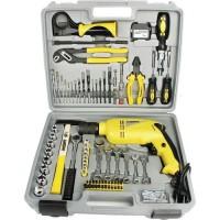MANNESMANN Coffret a 75 outils + perceuse a percussion - 810 W