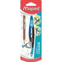 MAPED Compas Metal Open - Bague universelle