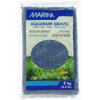 MARINA Gravier Deco bleu marine - 2 kg - Pour aquarium
