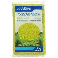 MARINA Gravier Deco vert lime - 2 kg - Pour aquarium