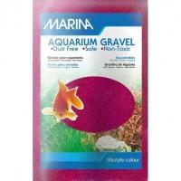 MARINA Sable aquarium 1 kg - Rose foncé - Pour poisson