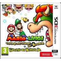 Mario & Luigi : Voyage au centre de Bowser + l'épopée de Bowser Jr. Jeu 3DS