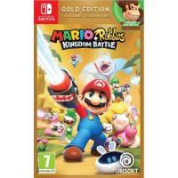 Mario + Lapins Crétins Kingdom Battle Édition Gold Jeu Switch