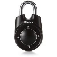 MASTER LOCK Cadenas a combinaison directionnelle 55mm - Noir - Pour vestiaire, casier d'école