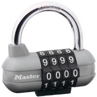 MASTER LOCK Cadenas a combinaison programmable 64mm - Pour vestiaire de sport, casier d'école