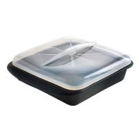 MASTRAD Papillote minute cuisson vapeur F69281 - Taille XL - Noir fumé