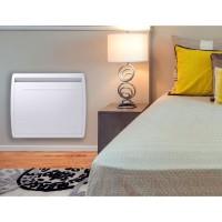 MAZDA 1000 watts Radiateur électrique a inertie - Chaleur Douce - Double technologie : Inertie céramique + Film - Programmation