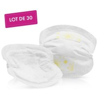 MEDELA Safe & Dry Coussinets d'allaitement ultra-absorbants a usage unique x30